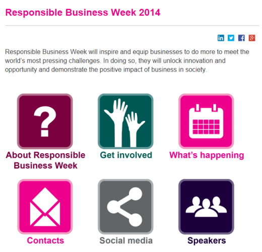 responsible business week