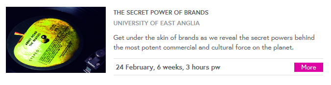 secret power of brands MOOC