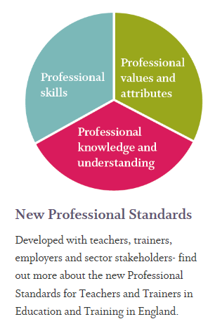 The Education and Training Foundation - New Professional Standards